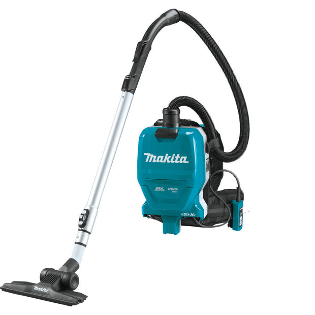 Makita XCV09Z 18V X2 LXT (36V) Brushless 1/2 Gal HEPA Backpack Vacuum