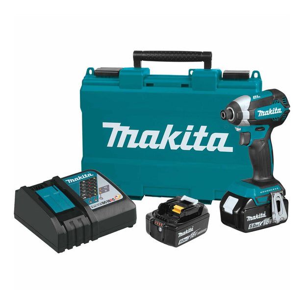 Makita XDT13T 18V LXT Brushless Cordless Impact Driver Kit 5.0Ah