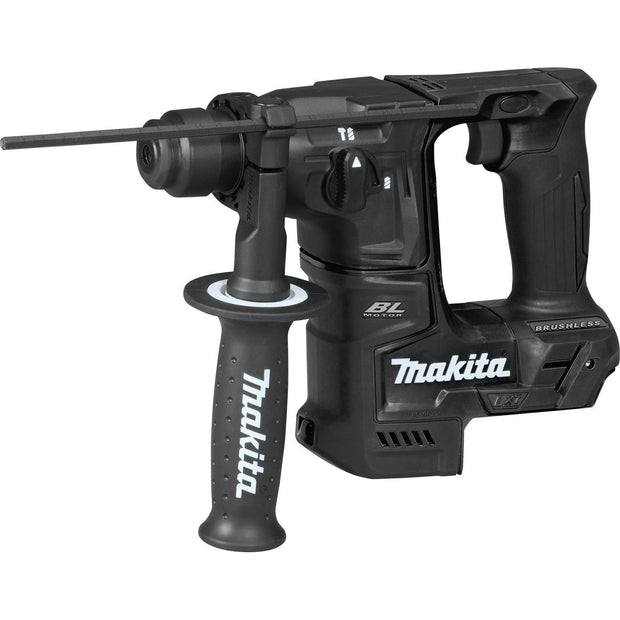 "Makita XRH06ZB 18V LXT Sub-Compact Brushless 11/16"" Rotary Hammer"