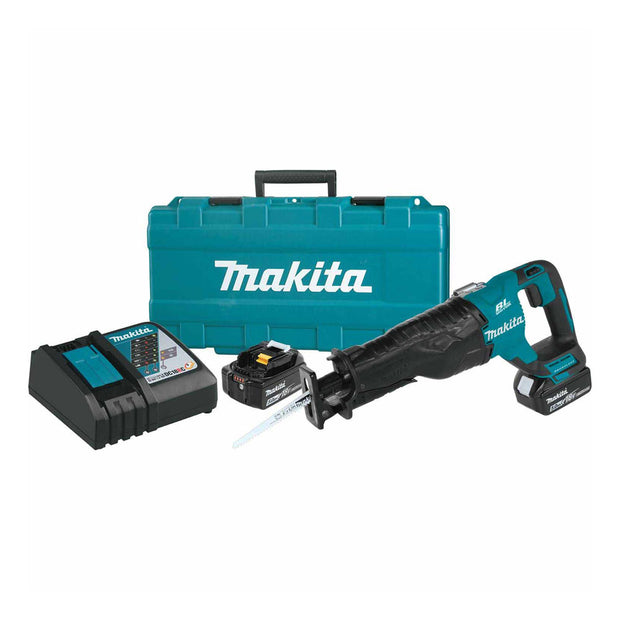 Makita XRJ05T 18V LXT Brushless Cordless Reciprocating Saw Kit 5.0Ah