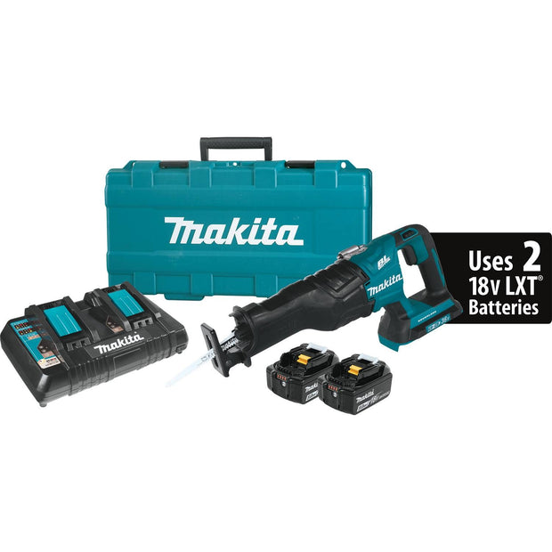 Makita XRJ06PT 18V X2 LXT (36V) Brushless Cordless Recipro Saw Kit