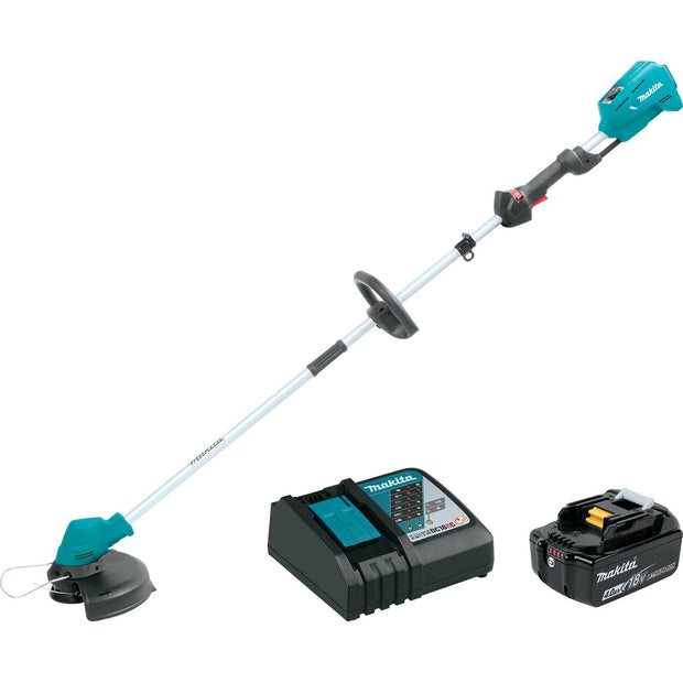 Makita XRU04M1 18V LXT Li-Ion Brushless Cordless String Trimmer Kit (4.0Ah)
