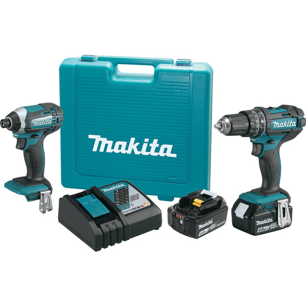 Makita XT261M 18V LXT Li-Ion 2 Piece Combo Kit (4.0Ah)