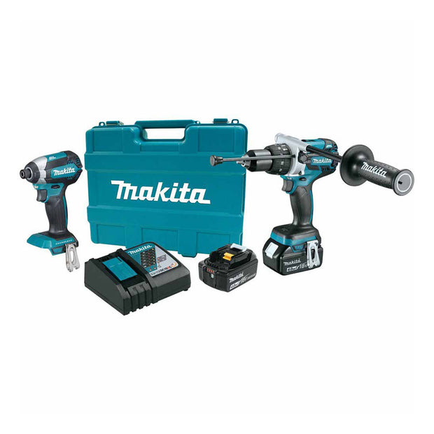Makita XT267M 18V LXT Brushless Cordless 2-Piece Combo Kit 4.0 Ah