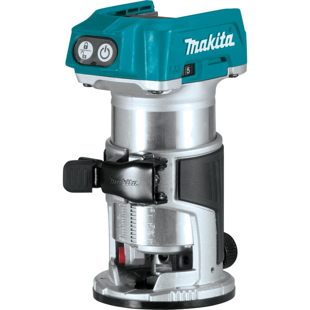 Makita XTR01Z 18V LXT Brushless Cordless Compact Router, Bare Tool