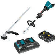 Makita XUX01M5PT 18V X2 (36V) LXT Brushless Couple Shaft Power Head Kit