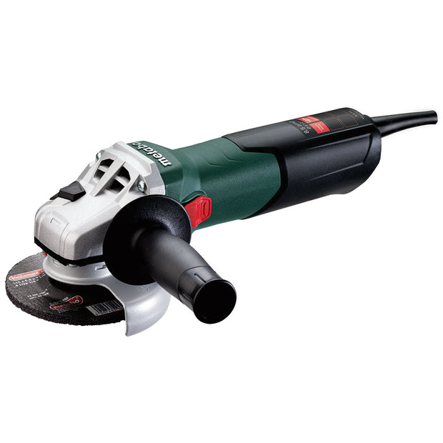 "Metabo 600354420 W 9-115 8.5Amp 4.5"" Angle Grinder with Lock-On Sliding Switch"