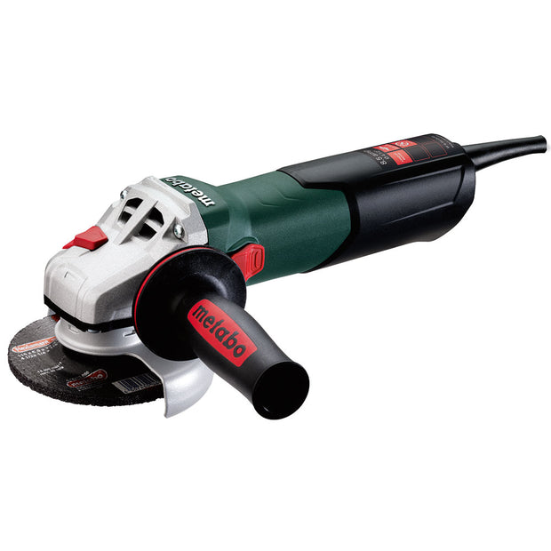 "Metabo 600371420 W 9-115 Quick 8.5Amp 4.5"" Corded Angle Grinder with Lock-On Sliding Switch"