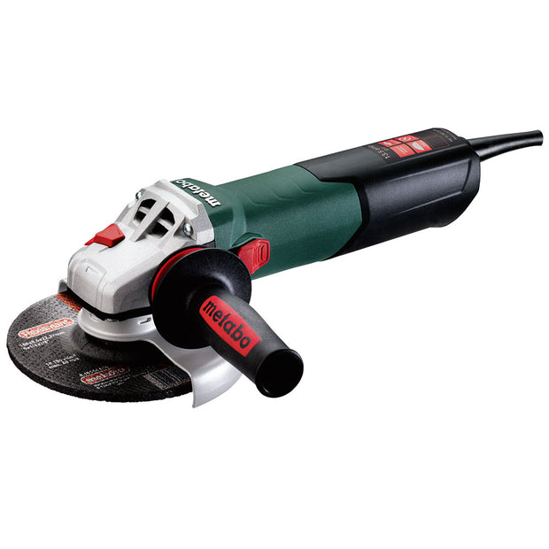 "Metabo 600464420 WE 15-150 Quick 13.5Amp 6"" Angle Grinder with Lock-On Slide Switch"