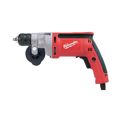 "Milwaukee 0201-20 3/8"" Drill, 0-2500 RPM with All Metal Chuck"