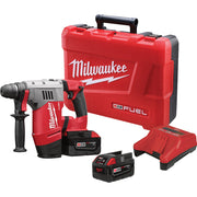 "Milwaukee 0757-22 M28 Fuel 1-1/8"" SDS Plus Rotary Hammer Kit"