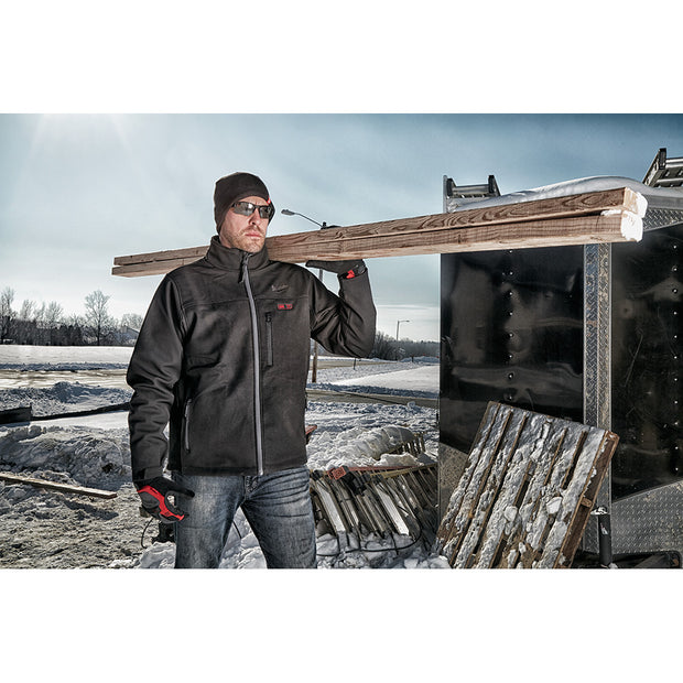 Milwaukee 202B-20 M12 Heated TOUGHSHELL Jacket Only, Black