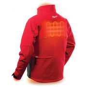Milwaukee 202R-20 M12 Heated TOUGHSHELL Jacket Only, Red