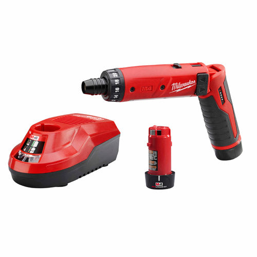 "Milwaukee 2101-22 M4™ 1/4"" Hex Screwdriver Kit"