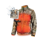 Milwaukee 222C-20S M12 Heated QUIETSHELL Jacket Only S, Realtree Camo