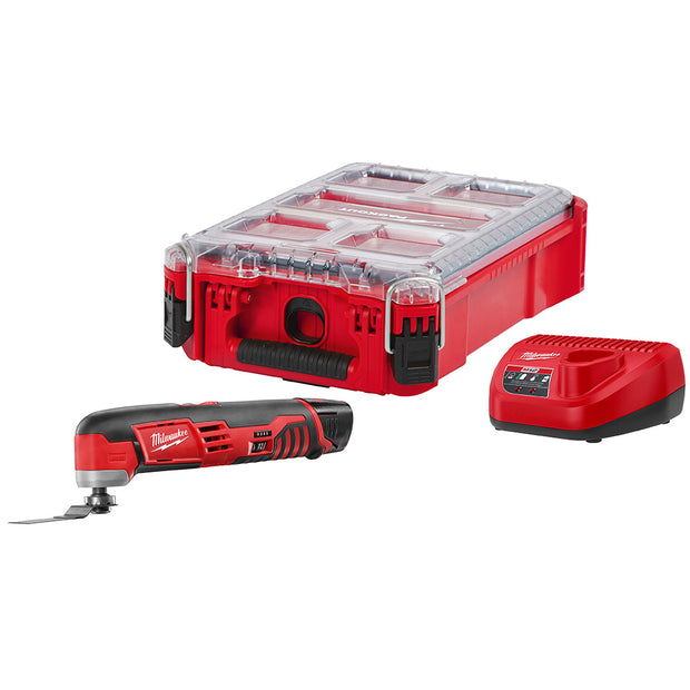 Milwaukee 2426-21PO M12 Oscillating Multi-Tool Kit with PACKOUT