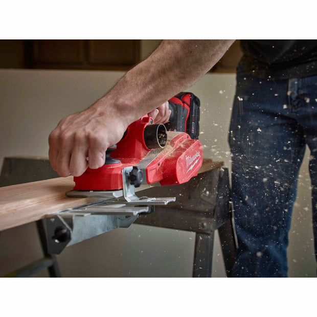 "Milwaukee 2623-21 M18 3-1/4"" Planer Kit"