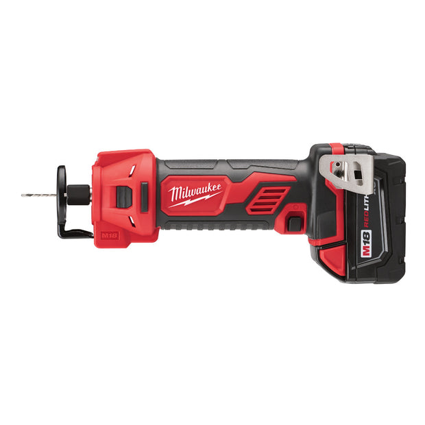 Milwaukee 2627-22 M18 Cut Out Tool Kit with High Capacity Batteries