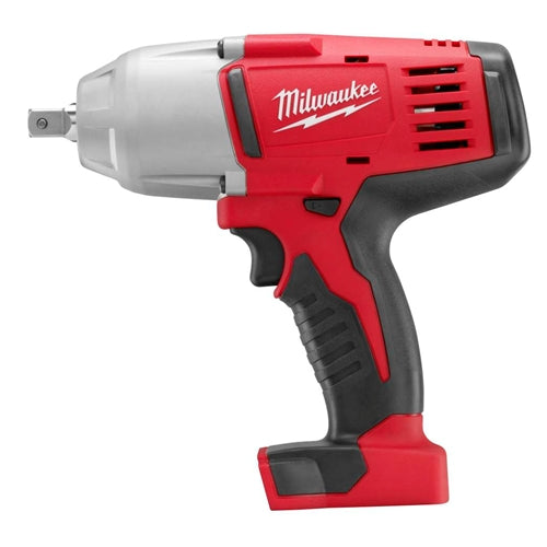 "Milwaukee 2662-20 M18 1/2"" High Torque Impact Wrench with Pin Detent (Bare Tool)"