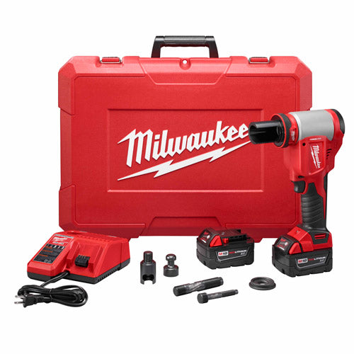 Milwaukee 2676-20 FORCELOGIC M18 10-Ton Knockout Tool Kit