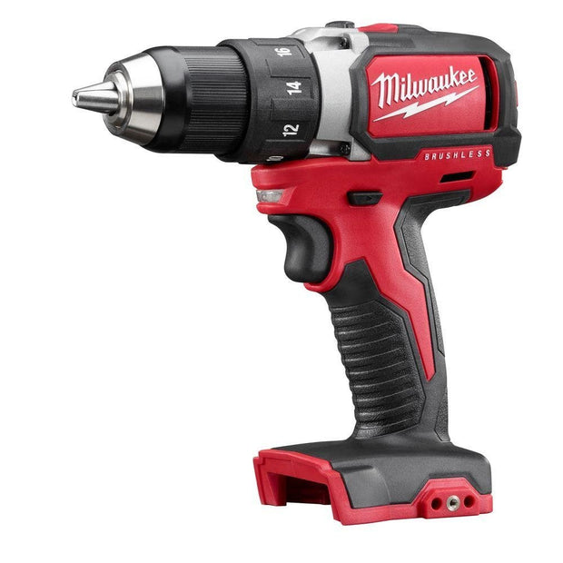 "Milwaukee 2701-20 M18 1/2"" Compact Brushless Drill/Driver (Tool Only)"