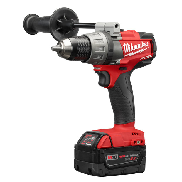 "Milwaukee 2703-22 M18 FUEL Cordless Li-Ion 1/2"" Drill/Driver Tool Kit"