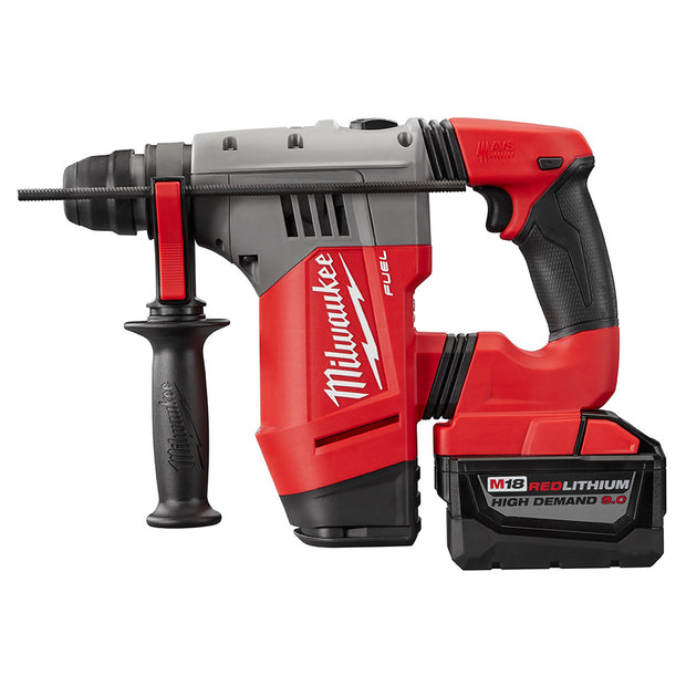 "Milwaukee 2715-22HD M18 FUEL 1-1/8"" SDS PLUS Rotary Hammer HIGH DEMAND Kit"
