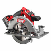 "Milwaukee 2731-22 M18 FUEL 7-1/4"" Circular Saw, 2 Battery Kit"