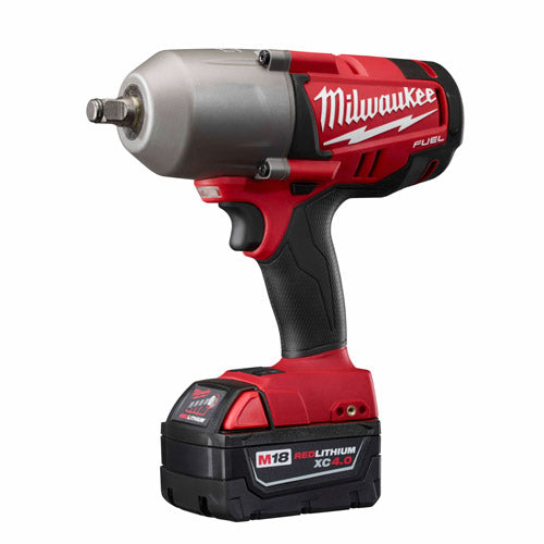 "Milwaukee 2763-22 M18 FUEL 1/2"" High-Torque Impact Wrench with Ring Kit"