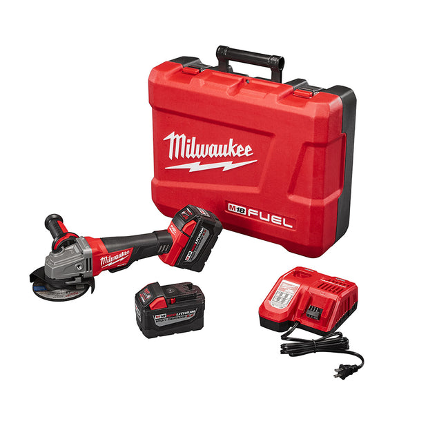 "Milwaukee 2780-22HD M18 FUEL 4-1/2""/5"" Grinder, Paddle Switch HIGH DEMAND Kit"