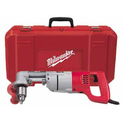 "Milwaukee 3002-1 1/2"" D-Handle Right Angle Drill Kit"