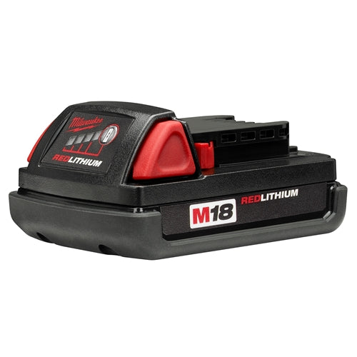 Milwaukee 48-11-1815 M18 18V 1.5 Ah Lithium-Ion Compact Battery