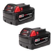 Milwaukee 48-11-1822 M18 XC High Capacity REDLITHIUM Battery Two Pack