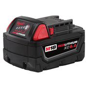 Milwaukee 48-11-1860 M18 REDLITHIUM XC6.0 Extended Capacity Battery Pack