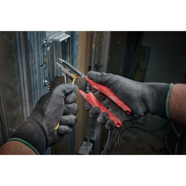 Milwaukee 48-22-3079 8GA - 20GA 6 IN 1 Combination Wire Pliers