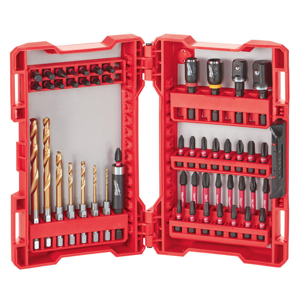 Milwaukee 48-32-4013 Shockwave Impact Duty Driver Bit Set 50 Piece