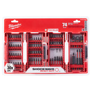 Milwaukee 48-32-4062 Shockwave Impact Duty Driver Bit Set (74-Piece)
