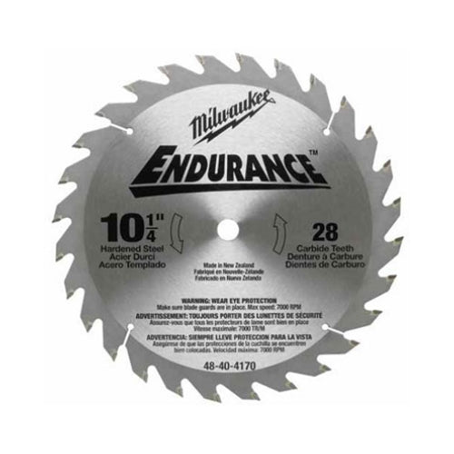 "Milwaukee 48-40-4170 10-1/4"" Rip & Crosscut Circular Saw Blade"