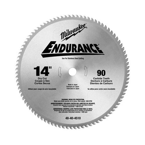 "Milwaukee 48-40-4510 14"" Dry Cut Circular Saw Blade"