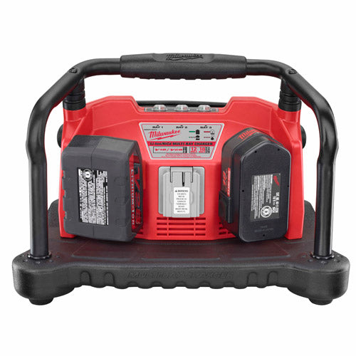 Milwaukee 48-59-0280 Multi-Bay Charger for All Slide-On NiCD and V18/V28 Li-Ion Batteries