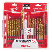 Milwaukee  48-89-4632 29 Piece TiN Shockwave Drill Bit Kit
