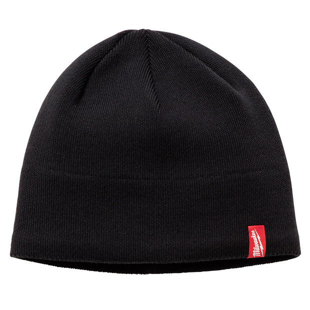 Milwaukee 502B Fleece Lined Knit Hat - Black
