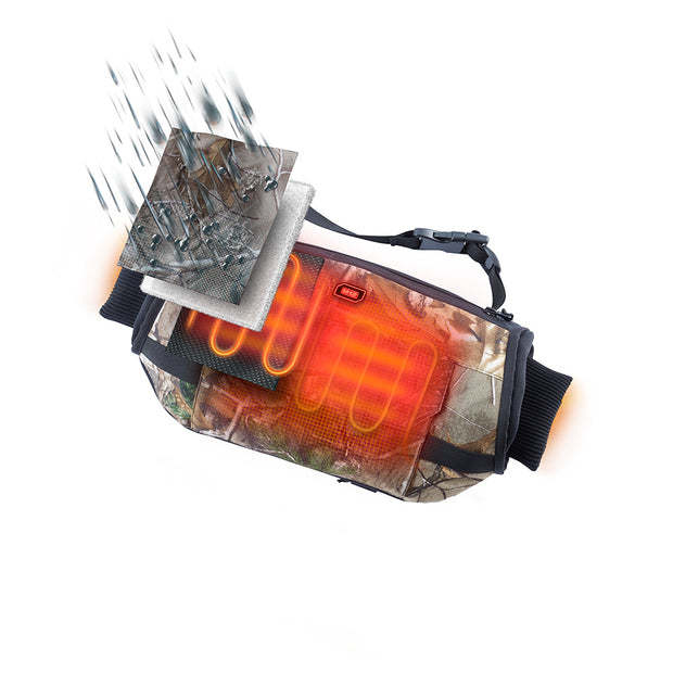 Milwaukee 551C-21 M12 Heated Hand Warmer and LED Work Light Kit, Realtree Xtra