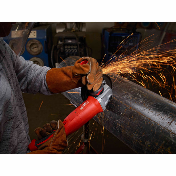 "Milwaukee 6124-31 13 Amp 5"" Small Angle Grinder Trigger Grip, No-Lock"