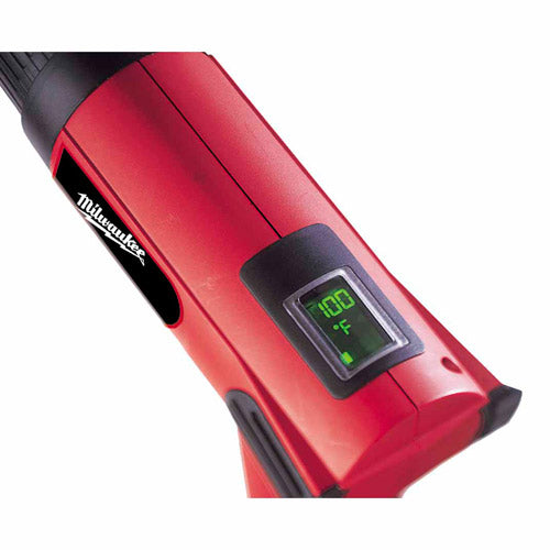 Milwaukee 8988-20 Variable Temperature Heat Gun 90-1050-F with LED Digital Readout Display