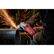 "Milwaukee 6141-30 4-1/2"" 11 Amp Small Angle Paddle Grinder, Lock on"
