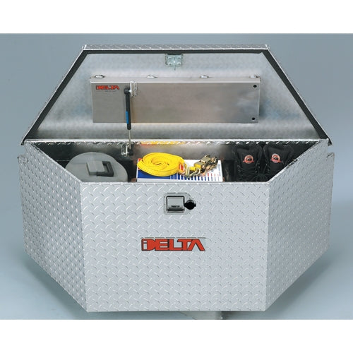 "Delta Pro 415000 ALUMINUM 33"" TRAILER TONGUE BOX"