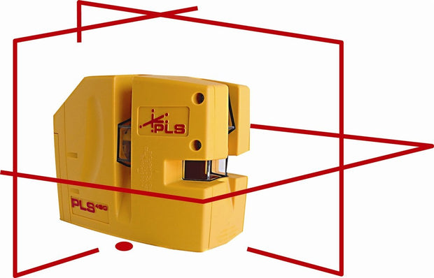 Pacific Laser Systems PLS 480 Red Self-Leveling Line Laser Level Tool PLS-60611