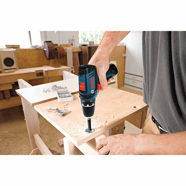 Bosch PS31-2A 12V Max Lithium Ion 2 Speed Drill-Driver 2 batteries