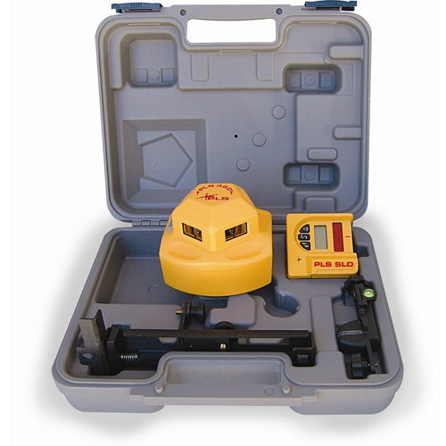 Pacific Laser Systems PLS 360 Red 360° Self-Leveling Laser Level System with Detector PLS-60536